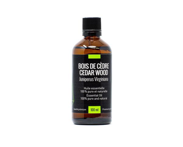 huile essentielle cèdre bois 100ml