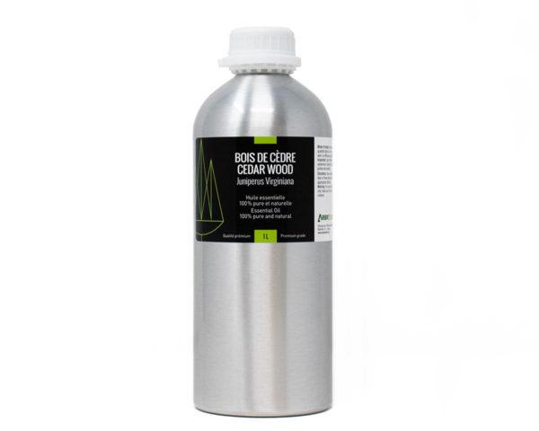 huile essentielle cèdre bois 1l
