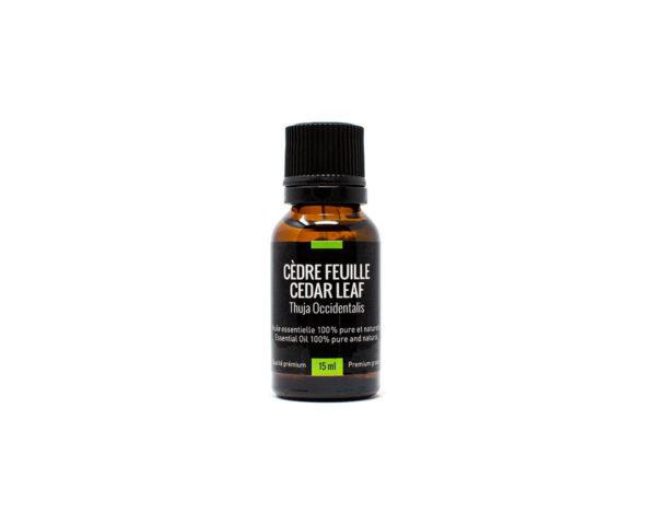 huile essentielle cèdre feuille 15ml