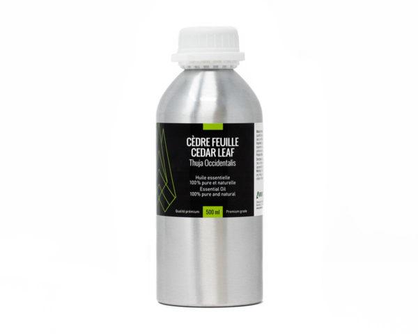 huile essentielle cèdre feuille 500ml