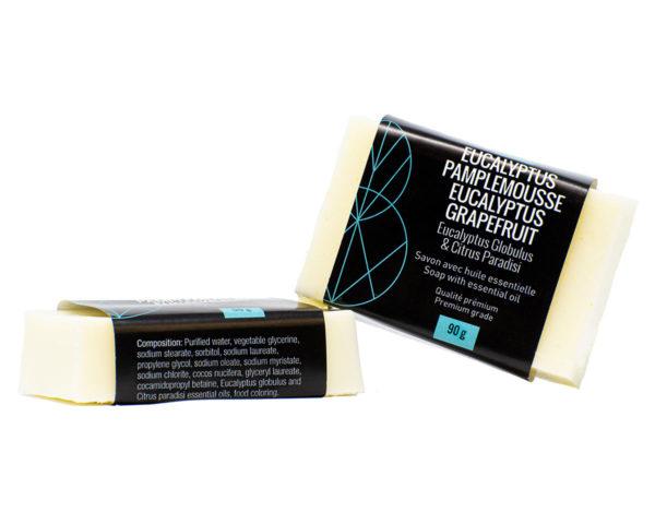 savon naturel eucalyptus pamplemousse