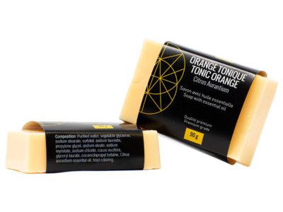 savon naturel orange tonique